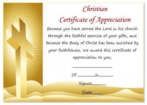 editable pastor appreciation certificate template example