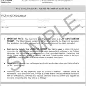 how to get a concealed carry certificate template excel