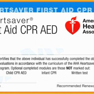 how to get a cpr first aid certificate template word