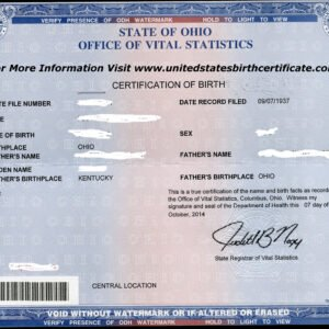 how to get a novelty birth certificate template doc