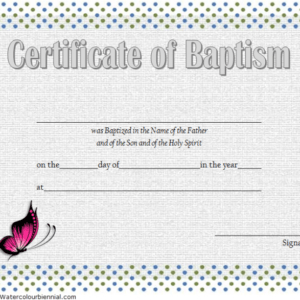 how to get a roman catholic baptism certificate template