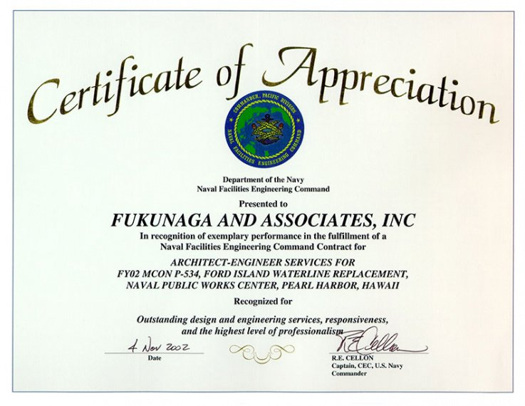 how to make a air force certificate of appreciation template word