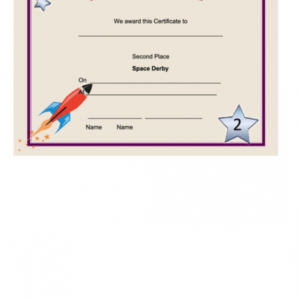 printable 2nd place certificate template ppt