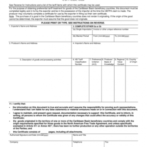 printable alarm certificate for insurance template excel