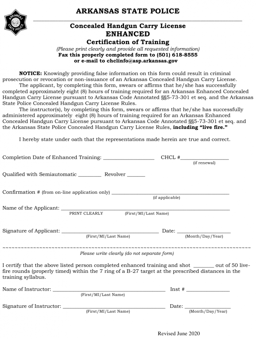 printable concealed carry certificate template doc