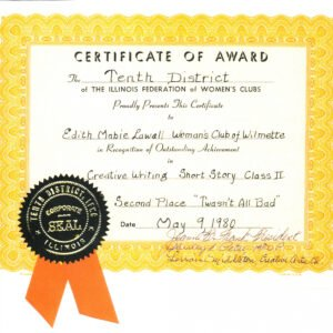 sample 2nd place certificate template ppt