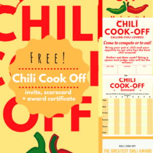 sample chili cook off award certificate template doc