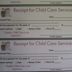 Family Day Care Parent Handbook Template Excel Sample