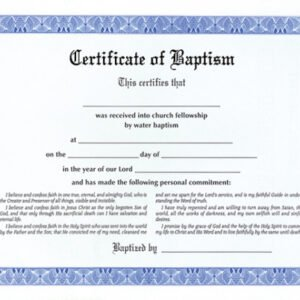 free baby christening certificate template example