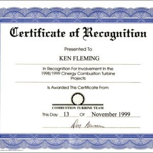how to make a formal certificate of appreciation template word