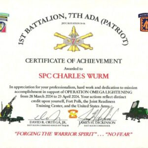 how to make a military certificate of appreciation template sample