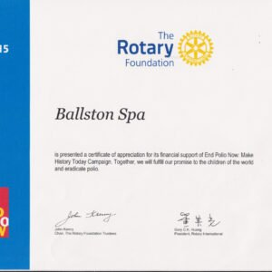 how to make a rotary certificate appreciation template pdf