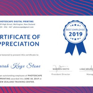 how to make a staff appreciation certificate template excel