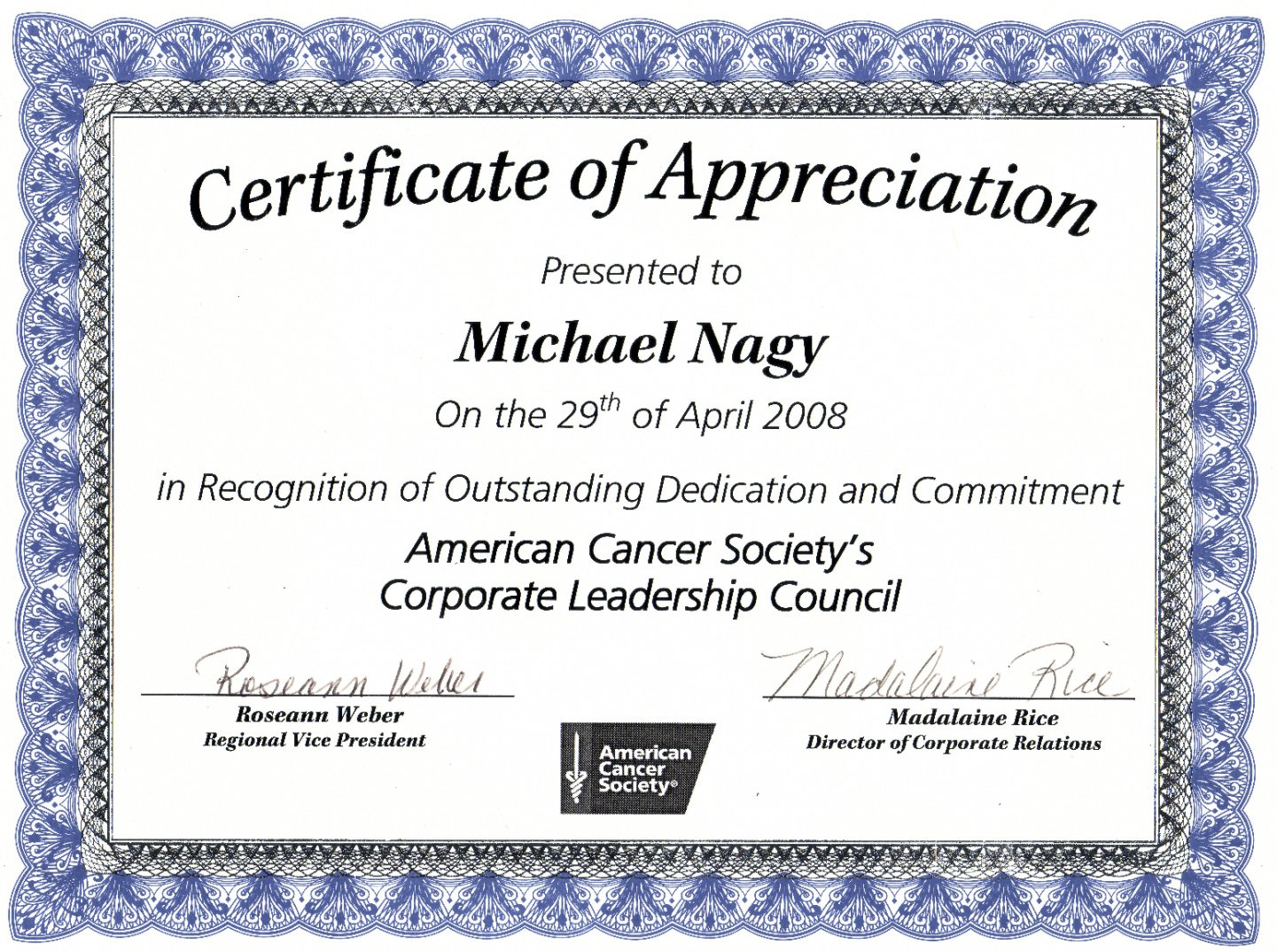 how to make a staff appreciation certificate template ppt