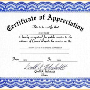 how to make a teacher appreciation certificate template example